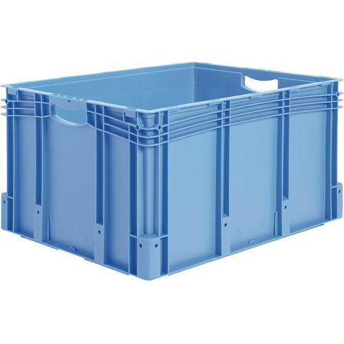 Caixa de norma europeia com fundo e paredes integrais - Comprimento de 400 mm a 800 mm - de 21 L a 174 L