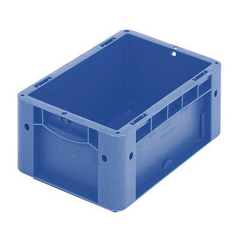 Caixa norma europeia fundo e paredes integrais - Comprimento 200 mm a 300 mm - 2,2 L a 8,3 L