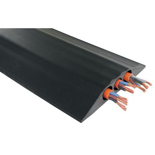 Passagem de cabos industrial