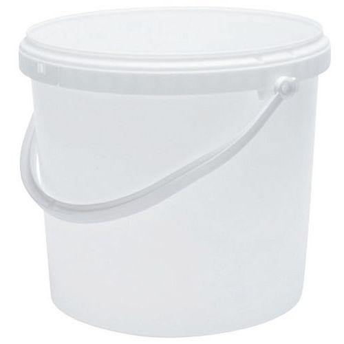 Balde com tampa – branco – 1 a 30L