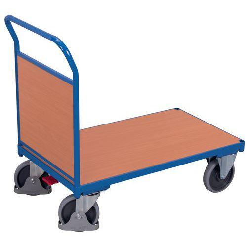 Carro com espaldar de madeira – Capacidade de 400 a 500kg
