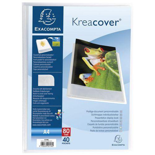 Pasta proteção docum. Kreacover® – A4. translúcida – Exacompta