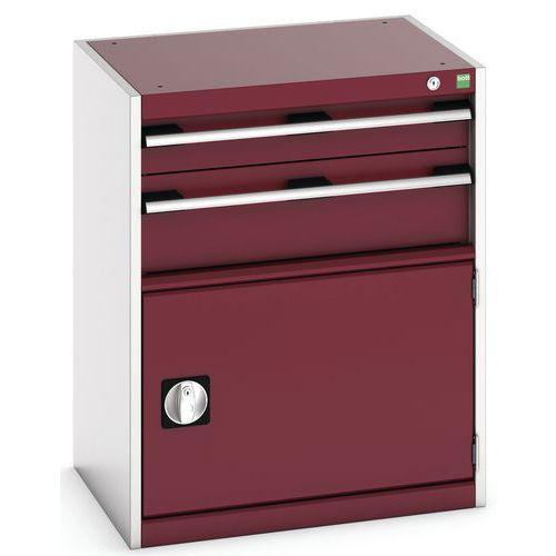 Armário de oficina Cubio SL-658-3.1 com gavetas - Bott