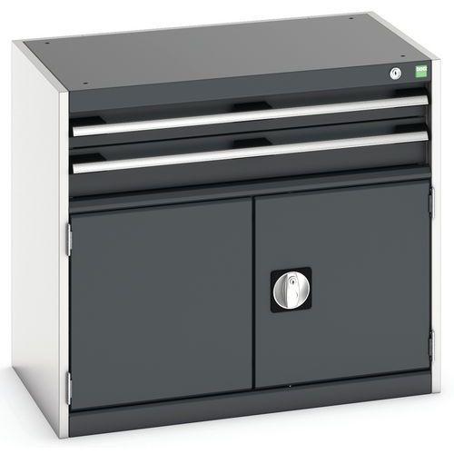 Armário de oficina Cubio SL-857-3.1 com gavetas - Bott