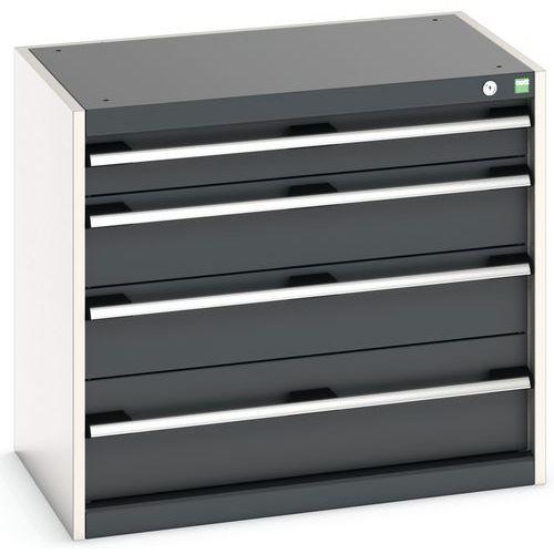 Armário de oficina Cubio SL-857-4.1 com gavetas - Bott