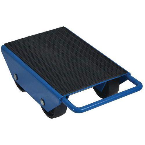 Base rolante com roletes fixos – 4 roletes – capacidade de 1000kg