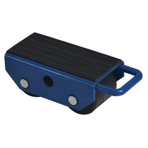 Base rolante com roletes fixos – 2 roletes – capacidade de 2500kg