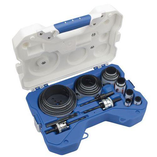 Kit de serra craneana bimetal para canalizador – 26 peças