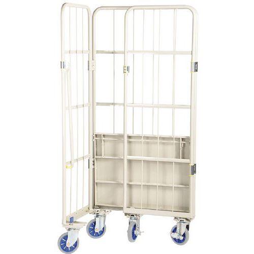 Contentor móvel encaixável – Base em aço – Capacidade de 500kg