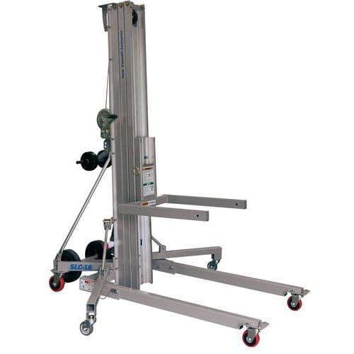 Elevador de carga manual – capacidade de 295kg