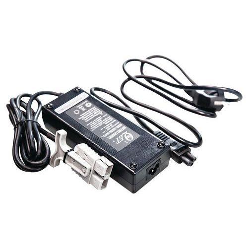 Carregador para porta-paletes semielétrico e elétrico
