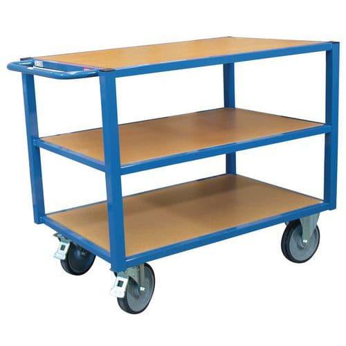 Carro de oficina com 3 plataformas – Capacidade: 500kg – FIMM