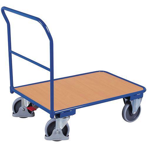 Carro de aço – 1 espaldar fixo – capacidade de 400kg
