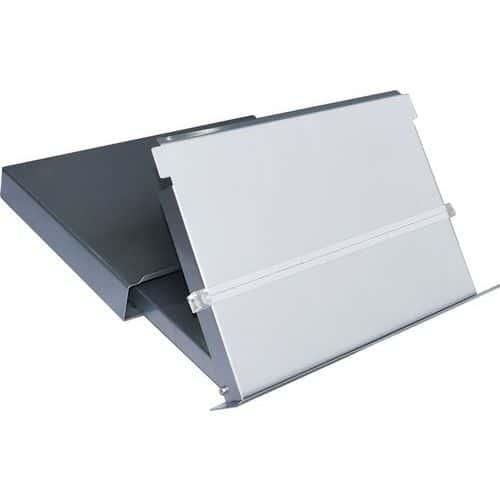 Porta-documentos A4 - Com suporte de ecrã - Manutan