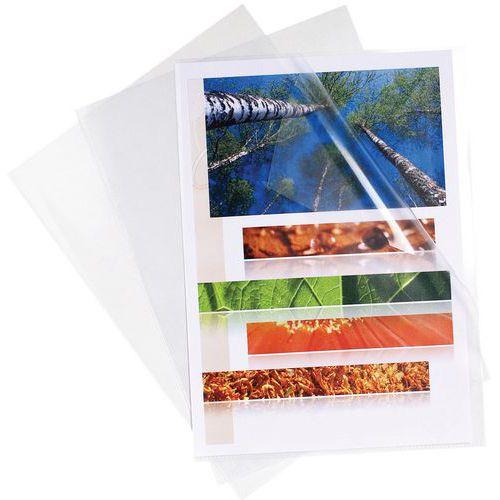 Capa de canto liso A4 – embalagem de 10 – Exacompta