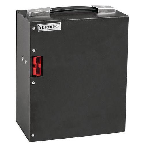 Bateria de lítio para porta-paletes semielétrico – capacidade de 1800kg