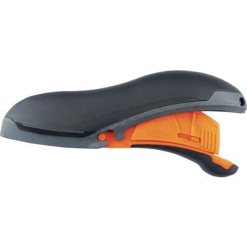Faca de segurança com gatilho Quairie – lâmina de ponta arredondada – Mure et Peyrot