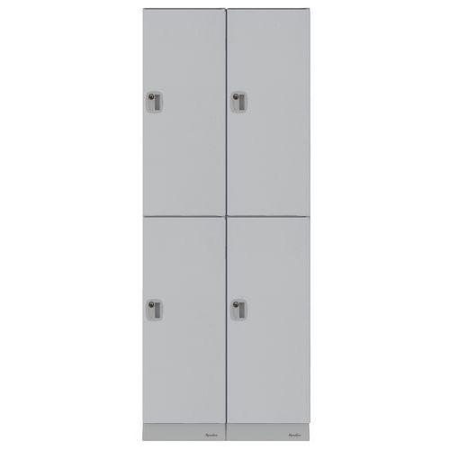 Cacifos de plástico multicompartimentos – compartimentos com 316mm de altura – de montar – Manutan