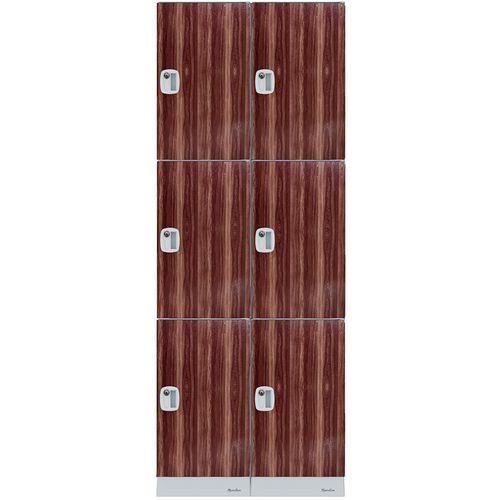 Cacifos de plástico multicompartimentos – compartimentos com 632mm de altura – de montar – Manutan