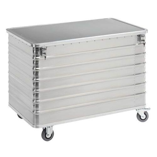 Carro-contentor em alumínio – Capacidade de 223L a 656L