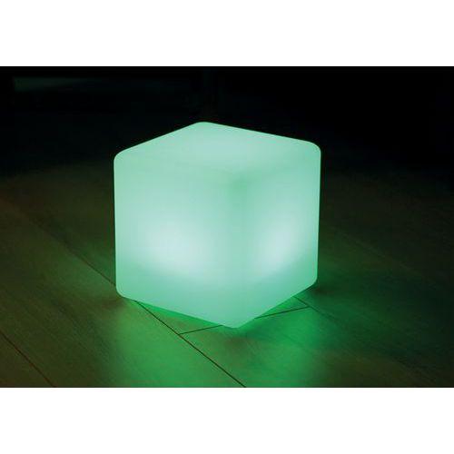 Cubo solar Kanti Ø20cm, PE, branco – AIC International