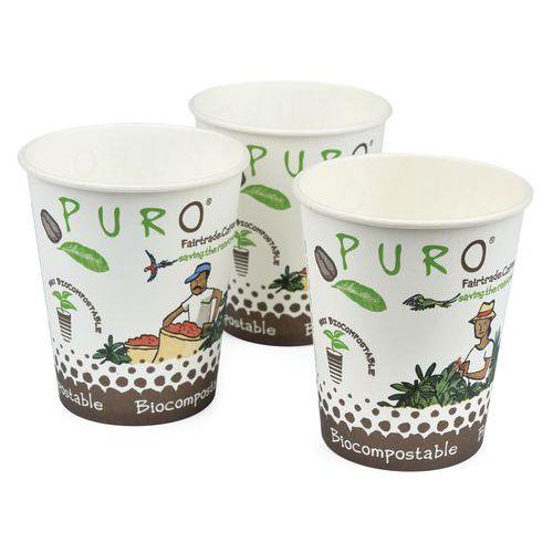 Copos biocompostáveis Puro – 15cl – conjunto de 2500 – Miko