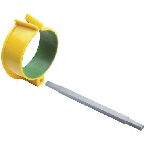 Suporte ergonómico para braço em alumínio verde – AIC International