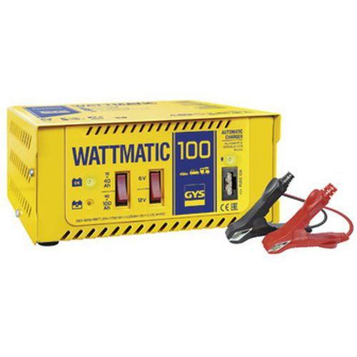 Carregador de bateria automático 6/12 V WATTMATIC 100