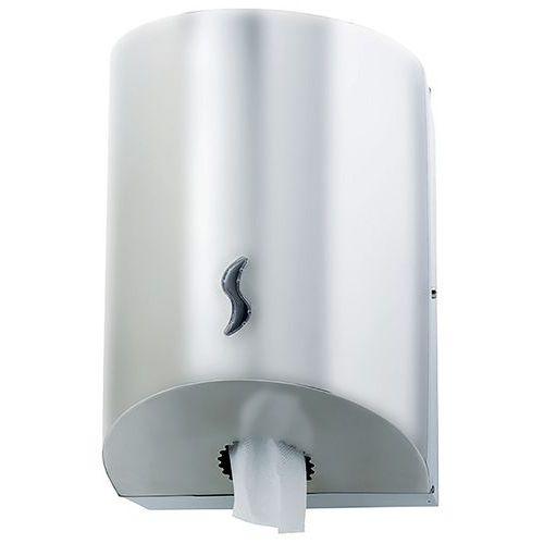 Distribuidor para rolo de limpeza com distribuição central