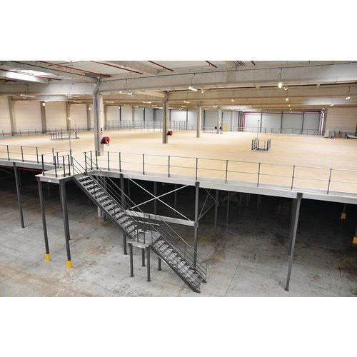 Plataforma de armazenamento industrial - 3000 x 4200 x 4200 mm