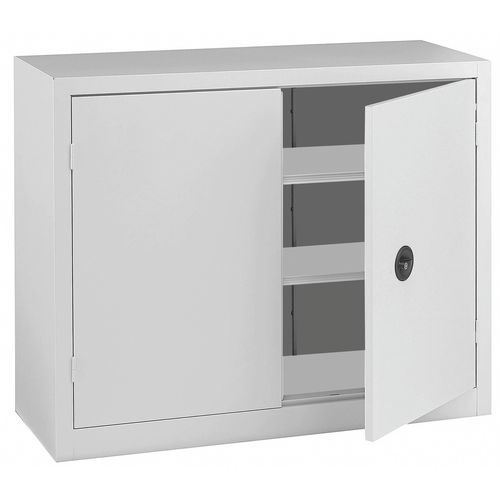 Armário com portas dobráveis em kit - Baixo - Largura 100 cm