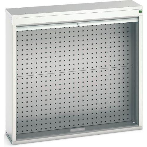 Armário com porta cortina 1050x300x1000 - BOTT