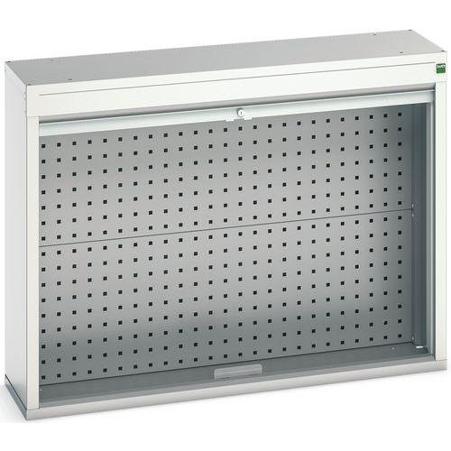 Armário traseiro com porta cortina 1050x300x800 - BOTT