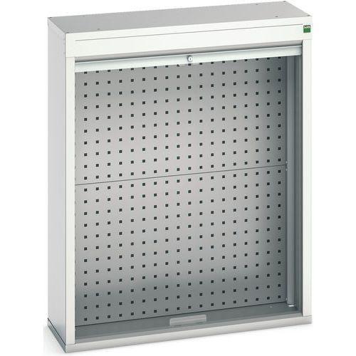 Armário com porta cortina 800x300x1000 - BOTT