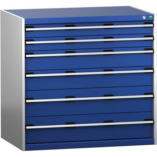 Armário de gaveta SL-10710-6.4 com 6 gavetas para carga pesada