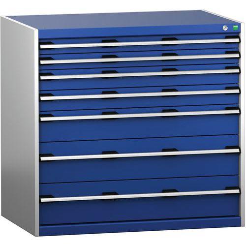 Armário de gaveta SL-10710-7.2 com 7 gavetas para carga pesada
