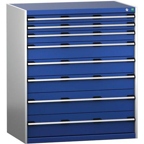 Armário da gaveta SL-10712-8.2 com as 8 gavetas para a carga pesada