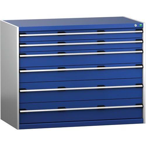 Armário de gaveta SL-13710-6.2 com 6 gavetas para carga pesada