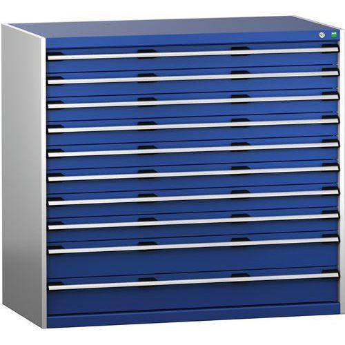 Armário de gaveta SL-13712-10.4 com 10 gavetas para carga pesada