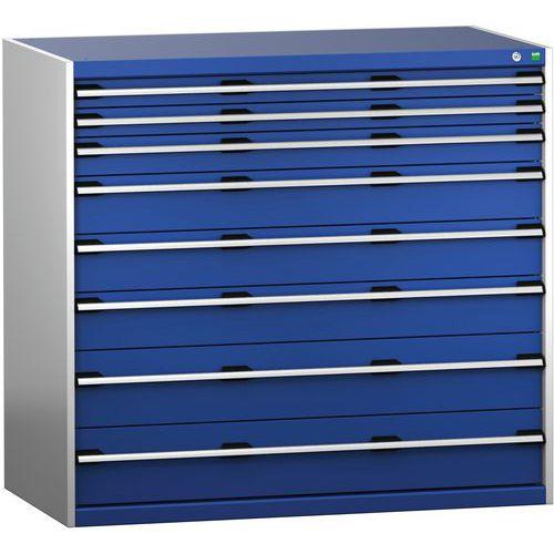 Armário da gaveta SL-13712-8.2 com as 8 gavetas para a carga pesada