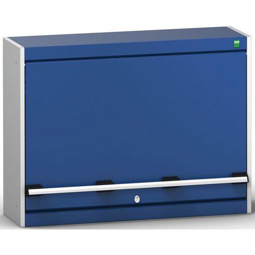 Unidade de parede Cubio com porta inferior e dobradiça 800x325x600mm