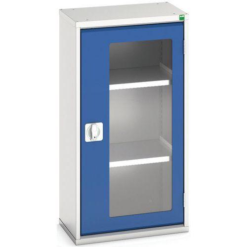 Portas transparentes do armário Verso com 2 prateleiras 525x350x1000