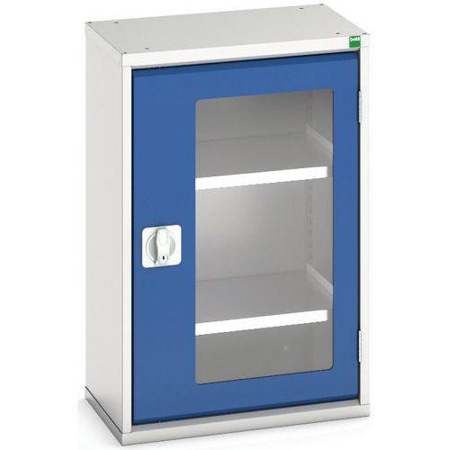 Portas transparentes do armário Verso com 2 prateleiras 525x350x800