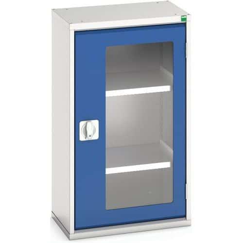Portas transparentes do armário Verso com 2 prateleiras 525x350x900