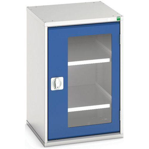 Portas transparentes do armário Verso com 2 prateleiras 525x550x800