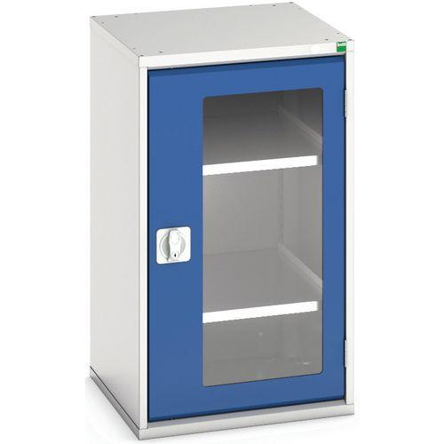 Portas transparentes do armário Verso com 2 prateleiras 525x550x900