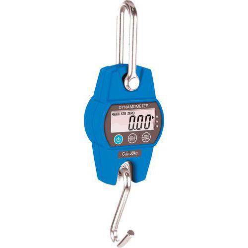 Dinamómetro eletrónico – DHS – 30kg – 10g - Timber