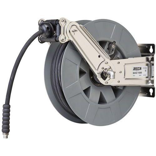Enrolador de mangueira de ar/água de alta pressão em aço inoxidável – Zeca