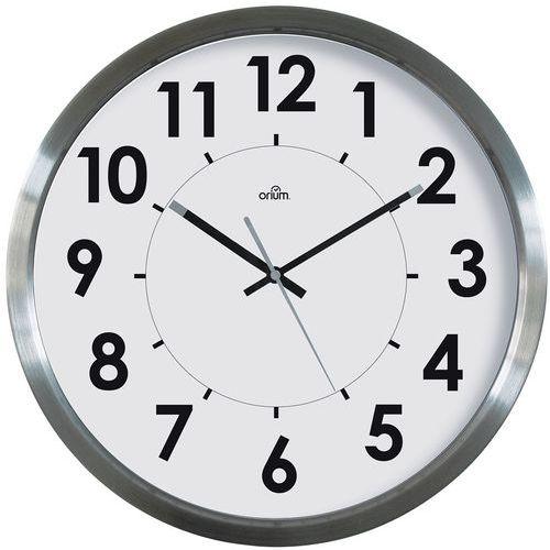 Relógio básico em inox