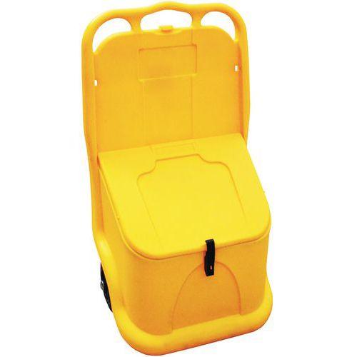 Recipiente para sal ou areia móvel com junta e fecho de pressão 75L – Jonesco